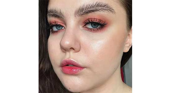 Makeup Insram Feather Brows It S The Opposite Of Sleek Tidy That Curly All